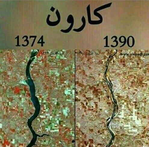 خوزستان خود زخم خورده بزرگ انتقال آب است