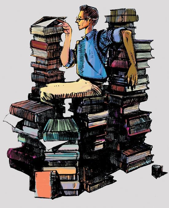 کتابخوانی، دریچه ای به روشنایی
