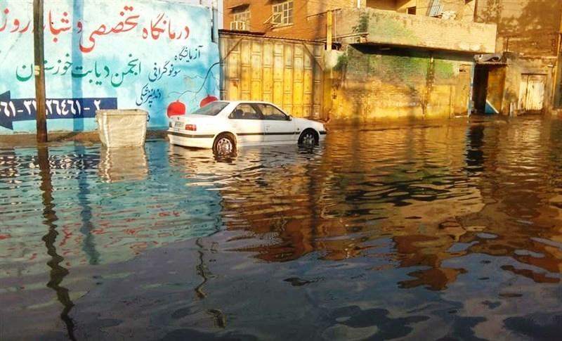 طرحی که قرار است آبهای سطحی شهر اهواز را جمع کند